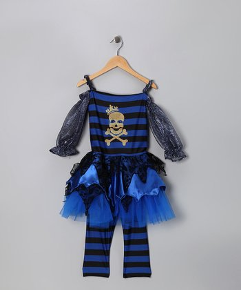 Black Priscilla Pirate Dress-Up Outfit - Kids