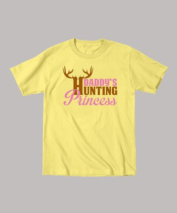 Banana 'Daddy's Hunting Princess' Tee - Toddler & Girls