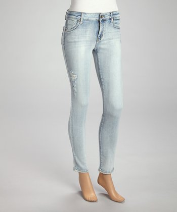 Light St. Five-Pocket Mid-Rise Skinny Jeans - Women