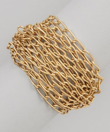 Gold Layered Link Bracelet