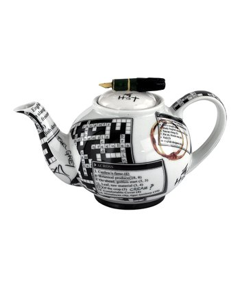 Crossword 18-Oz. Teapot