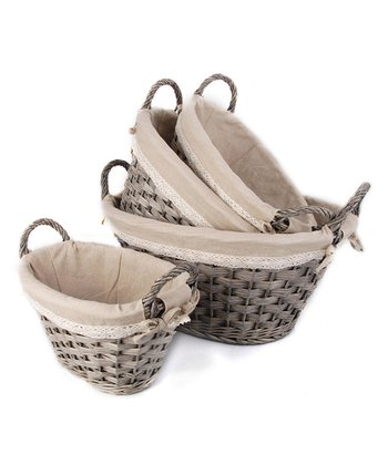 Willow Basket - Set of Four