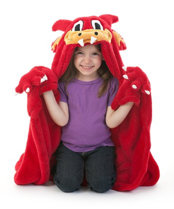 Year of the Dragon Cuddly Buddies Throw