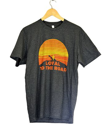 Charcoal 'Loyal to the Road' Tee - Adult