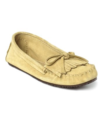 Tan Suede Sunshine Moccasin