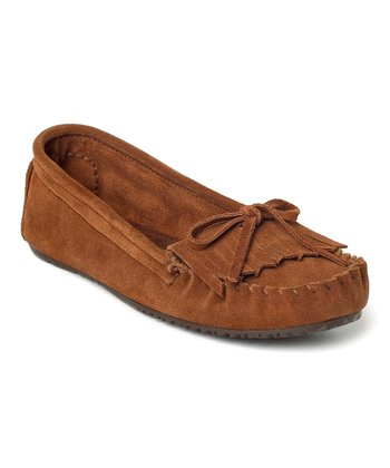 Copper Suede Sunshine Moccasin