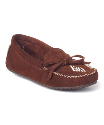 Copper Suede Canoe Moccasin