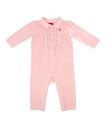 Light Pink Ruffle Playsuit - Infant