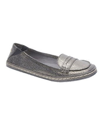 Pewter Casual Flat