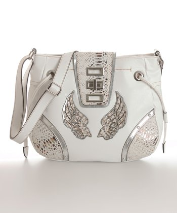 White Margo Crossbody Bag