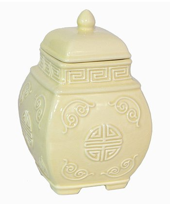 Pale Yellow Jar
