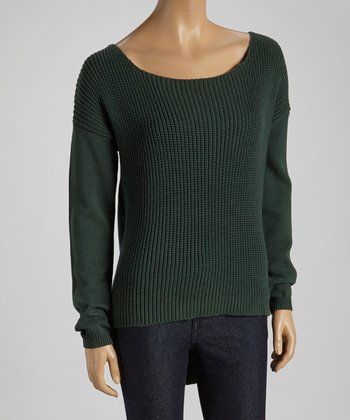 Spruce Hi-Low Sweater
