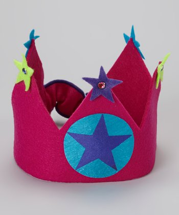 Fuchsia Star Crown