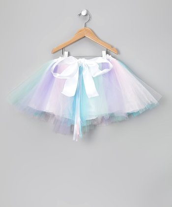 Pastel Bunny Love RIbbon Tutu