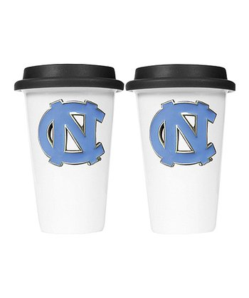 North Carolina Ceramic Travel Mug - Set of Two