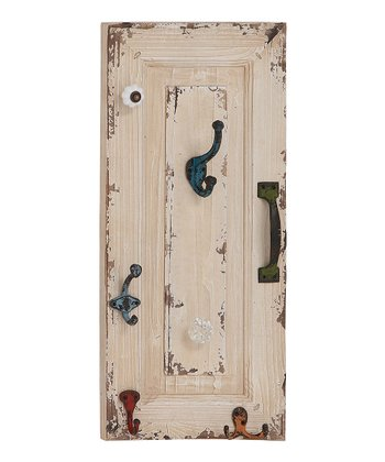 White Rustic Wall Hook