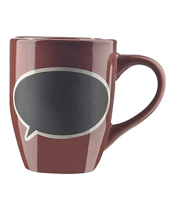 Brown Blackboard Mug