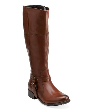 Brown Plaza Pug Riding Boot - Women