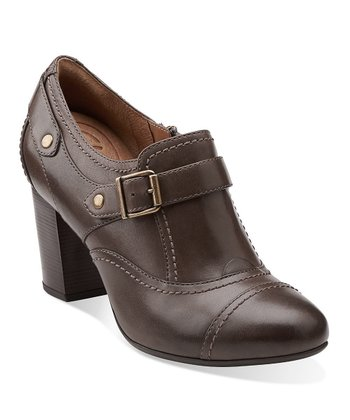 Dark Gray Town Edge Shoe - Women