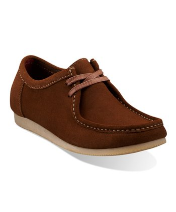 Tan Suede Gunn Lace-Up Shoe - Men
