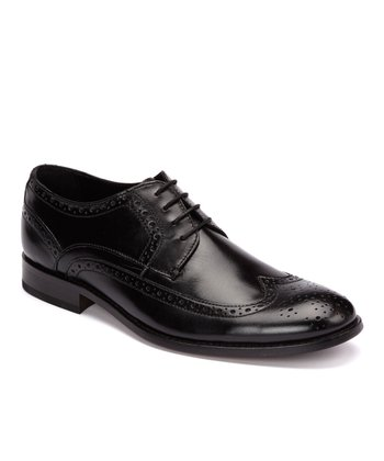 Black Bunsen Oxford - Men
