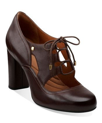 Brown Loyal Heart Oxford - Women