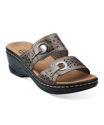 Pewter Lexi Laurel Sandal - Women
