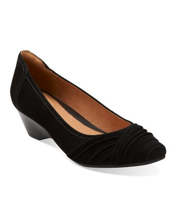 Black Suede Ryla King Pump - Women