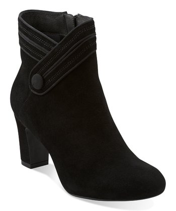 Black Suede Tamryn Season Ankle Boot - Women