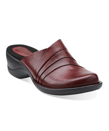 Burgundy Azlyn Dream Mule - Women