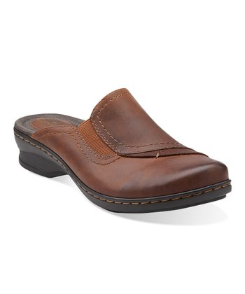 Brown Ideo Hay Leather Mule