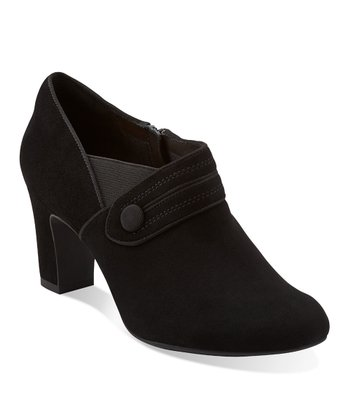 Black Suede Tamryn Maize Bootie - Women