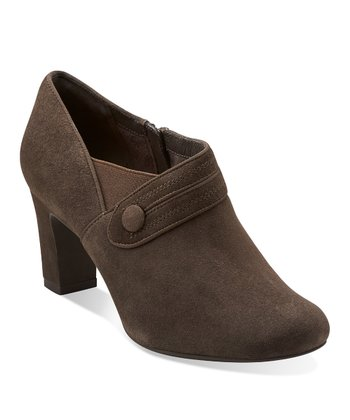 Pewter Suede Tamryn Maize Bootie - Women
