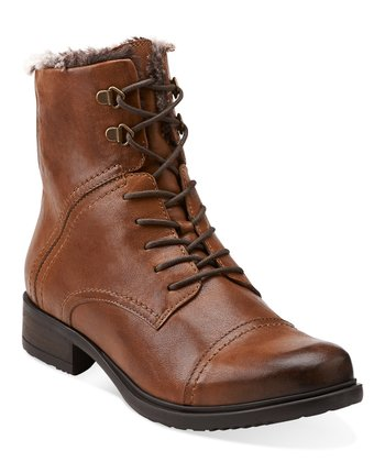 Tan Mortimer Liz Boot