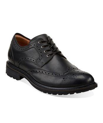 Black Norse Wing Oxford - Men