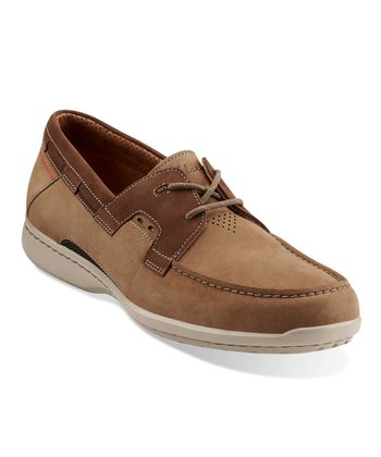 Taupe Nubuck Un.Cape Shoe - Men
