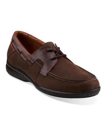 Brown Nubuck Un.Cape Shoe - Men