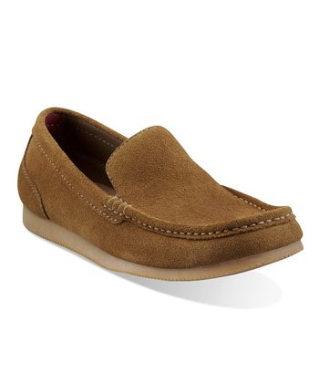 Taupe Suede Brandt Slip-On Shoe - Men