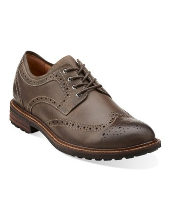 Gray Norse Wing Oxford - Men