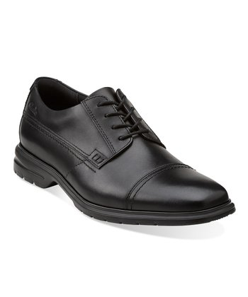 Black Ohara Lace-Up Shoe - Men