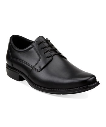 Black Nicky Plntoe Lace-Up Shoe - Men