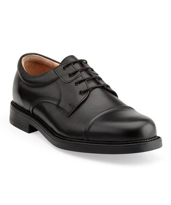 Black Tuscana Lace-Up Shoe