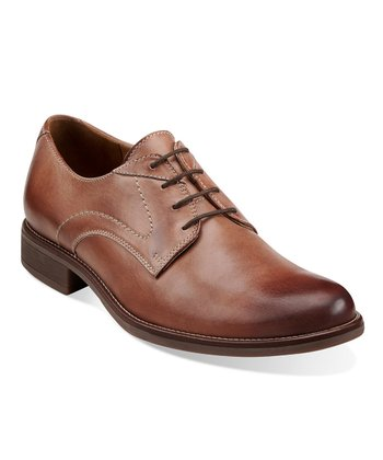Tan Faneuil Lace-Up Shoe