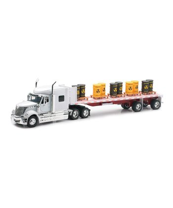 International Toxic Barrel Flatbed Truck Model