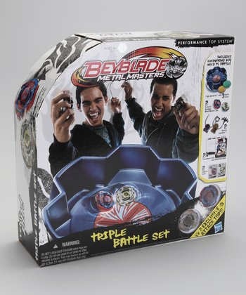 Beyblades Metal Masters Triple Battle Set