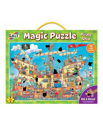 Magic Pirate Ship Puzzle