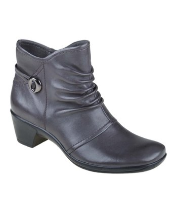 Stone Gray Bailey Ankle Boot