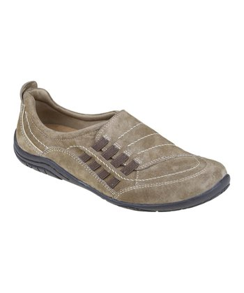 Sedona Brown Suede Abilene Slip-On Shoe