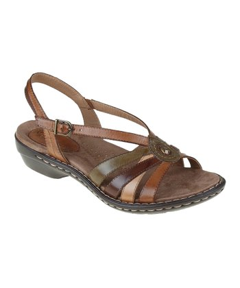 Alpaca & Dark Brown Sylvia Sandal