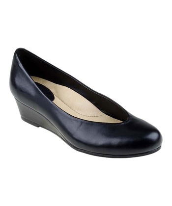 Black Woodbury Wedge